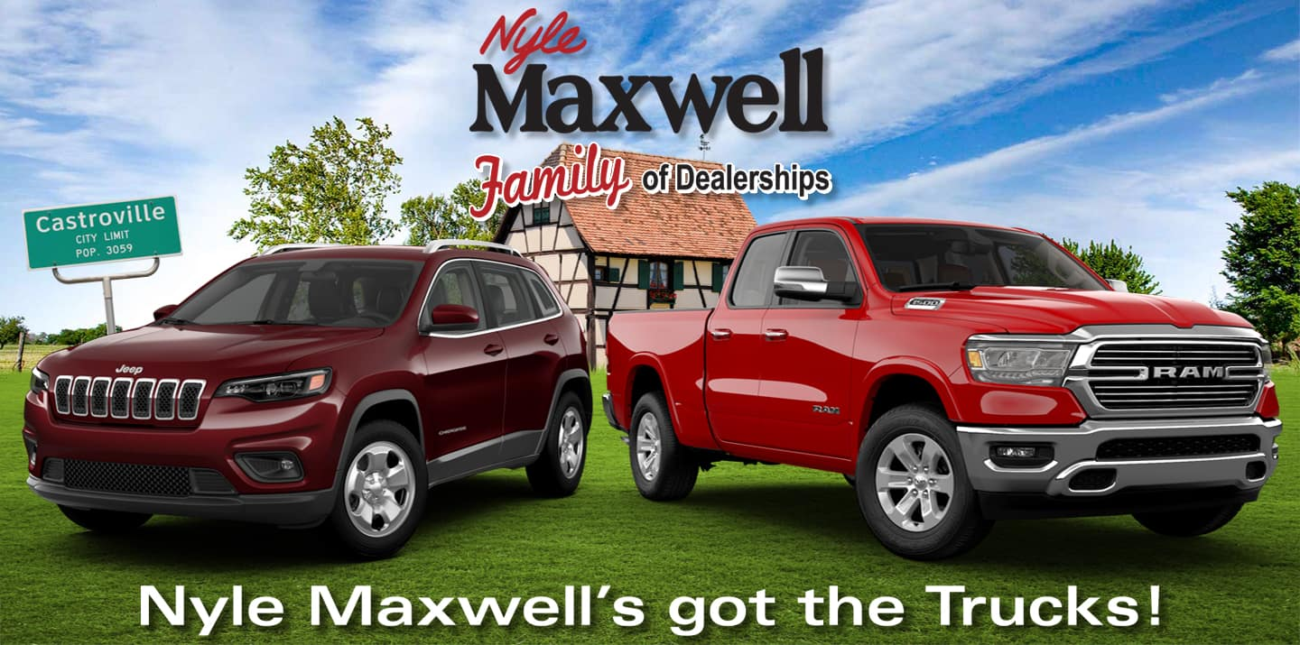 Nyle Maxwell Chrysler Dodge Jeep Ram Of Castroville Phase 1