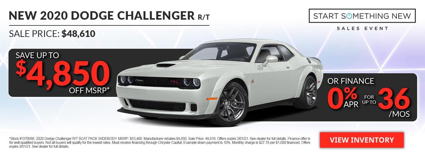 2020 Dodge Challenger