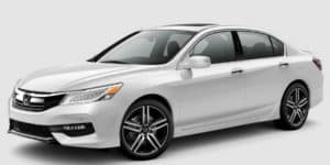 2017 Honda Accord in White Orchid Pearl