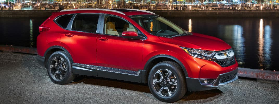 2017 Honda CR V Trim Level Features Banner