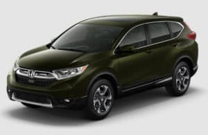 2017 CR-V Dark Olive Metallic
