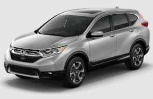 2017 CR-V Lunar Silver Metallic