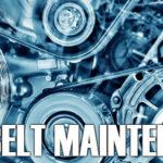 Stylized closeup of car engine