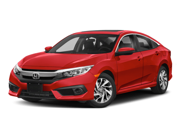 2018 Honda Civic Sedan Angled