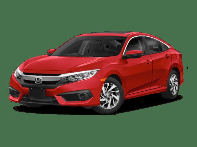 2018 Honda Civic Sedan Angled