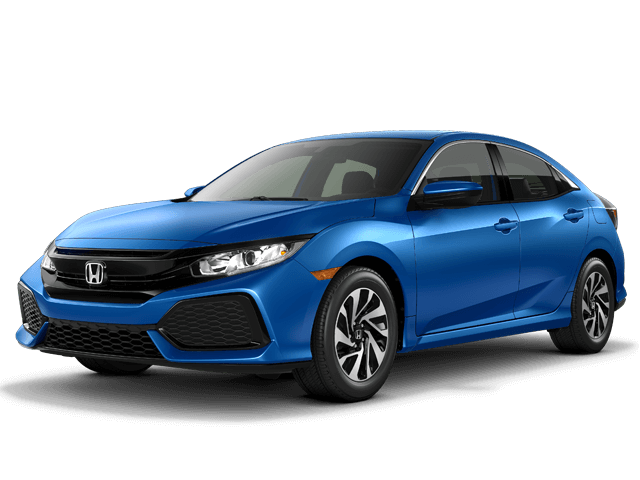 New 2018 Honda Civic Hatchback LX CVT