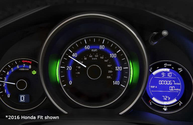 2016 Honda Fit Dashboard