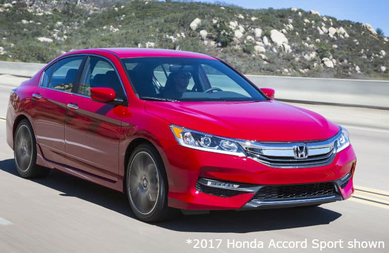 2017 Honda Accord Touring Edition interior front view
