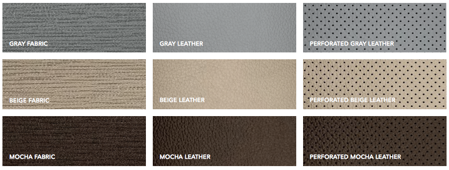 Odyssey interior color options