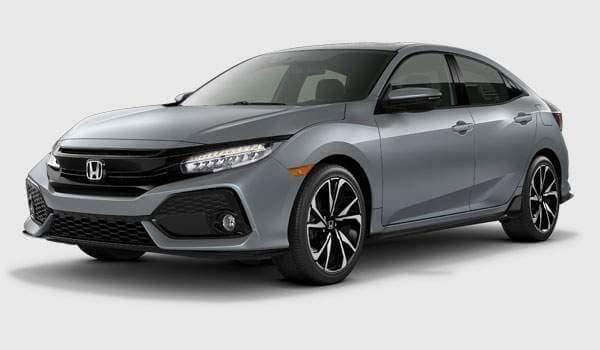 2018 Civic Hatchback Sport Touring trim comparison