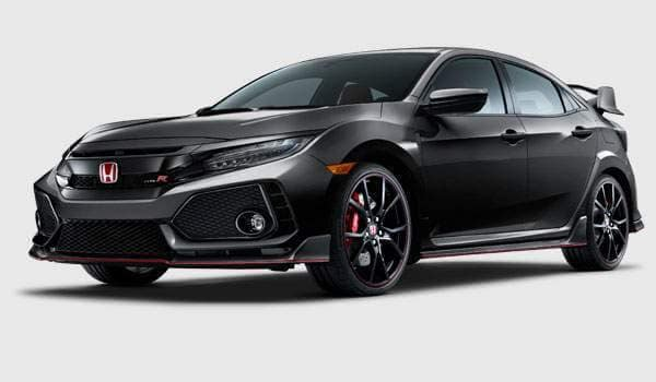 2018 Civic Hatchback Type R trim
