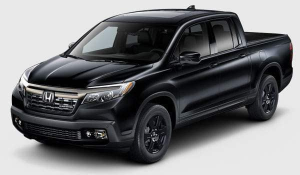 2018 Ridgeline Black trim comparison banner