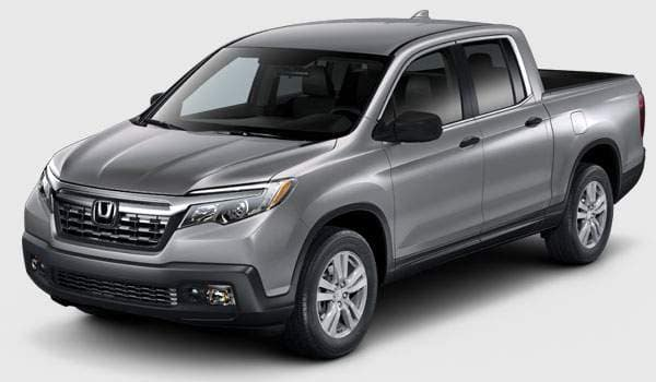 2018 Ridgeline RT trim comparison