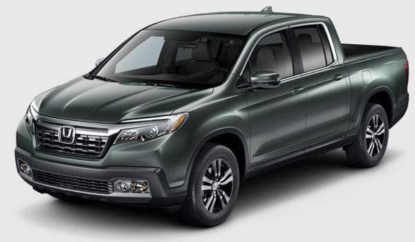2018 Ridgeline RTL trim comparison