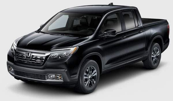 2018 Ridgeline Sport trim comparison