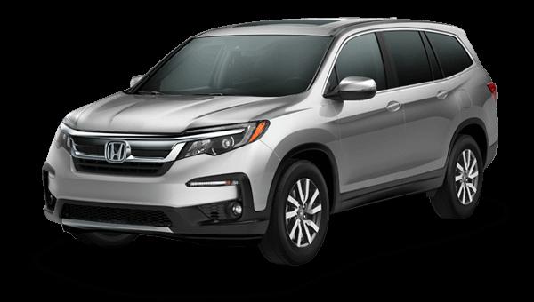 2019 Honda Pilot EX-L NaviRes trim comparison