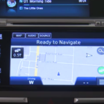 Honda Civic with navigation