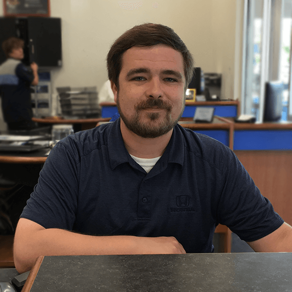 Jonathan Walker service advisor