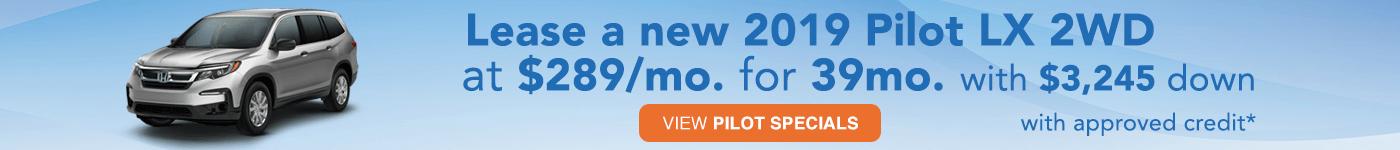 2019 Pilot Lease $289