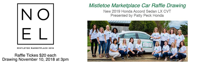 2018 Honda Accord Mistletoe Marketplace Raffle