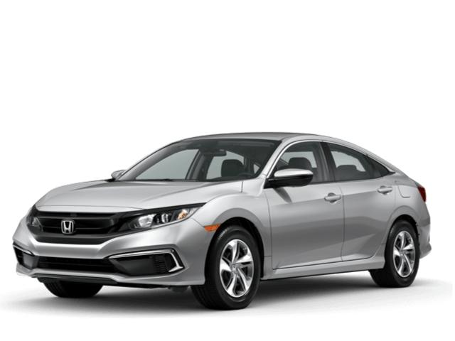 New 2020 Honda Civic Sedan LX CVT