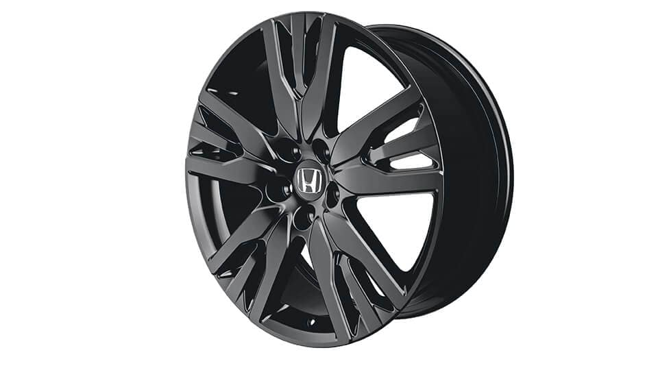 Honda Pilot 20-in Black Alloy Wheel