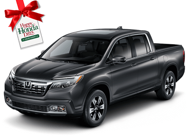 New 2019 Honda Ridgeline RTL 2WD