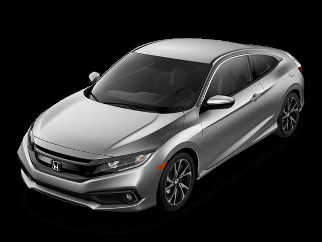 New 2019 Honda Civic Coupe Sport CVT