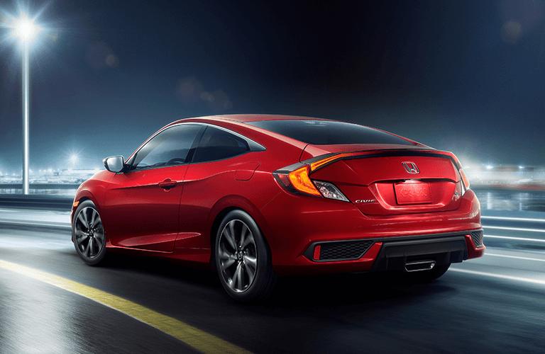 2019 Honda Civic Coupe trim comparison