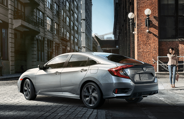 2019 Honda Civic Sedan trim comparison
