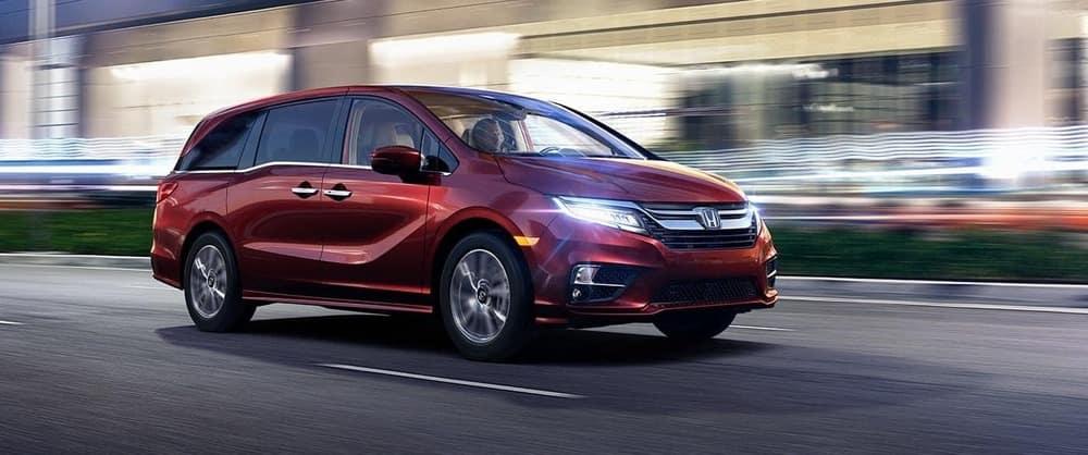 2019 Honda Odyssey Red Exterior