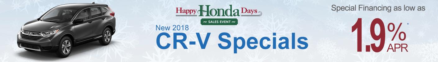 Honda CR-V Specials Banner