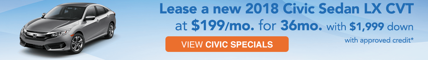 Honda Civic Sedan Special