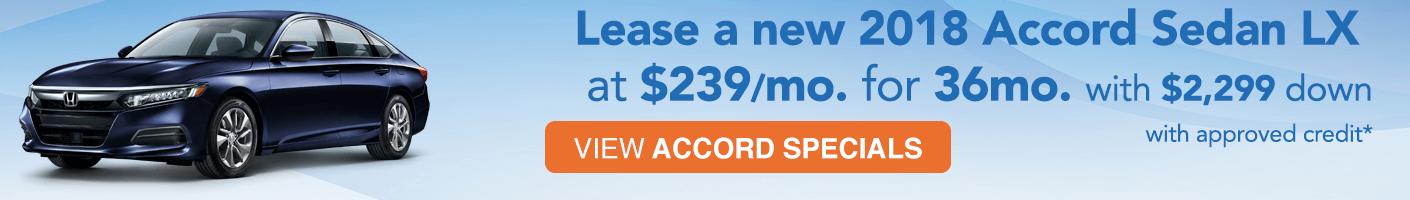 Honda Accord Special VRP Banner