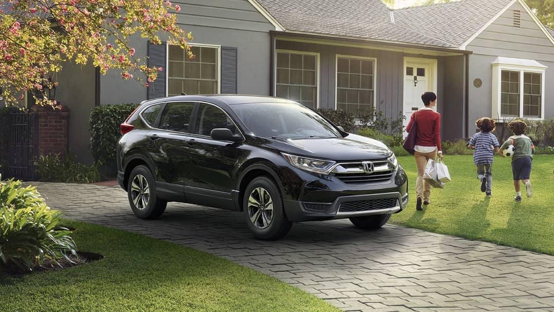 2019 Honda CR-V LX vs  EX | Honda CR-V Models Comparison