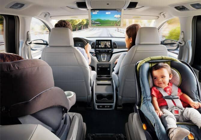 2019 Honda Odyssey interior cabin