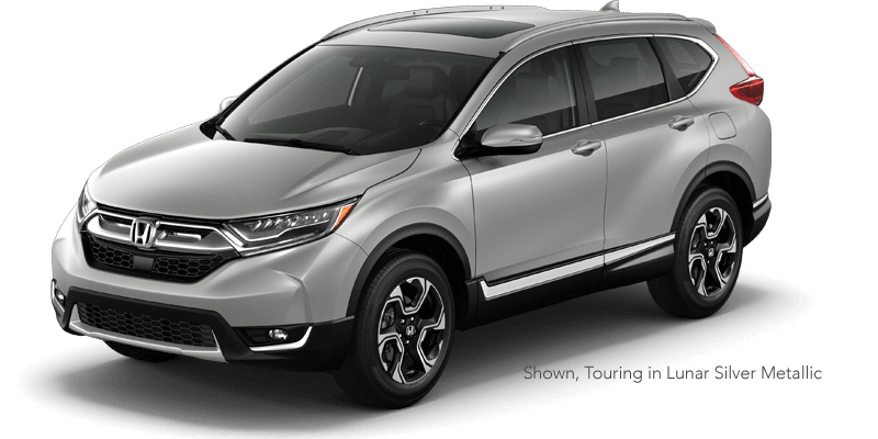 2019 Honda CR-V Research Touring in Lunar Silver