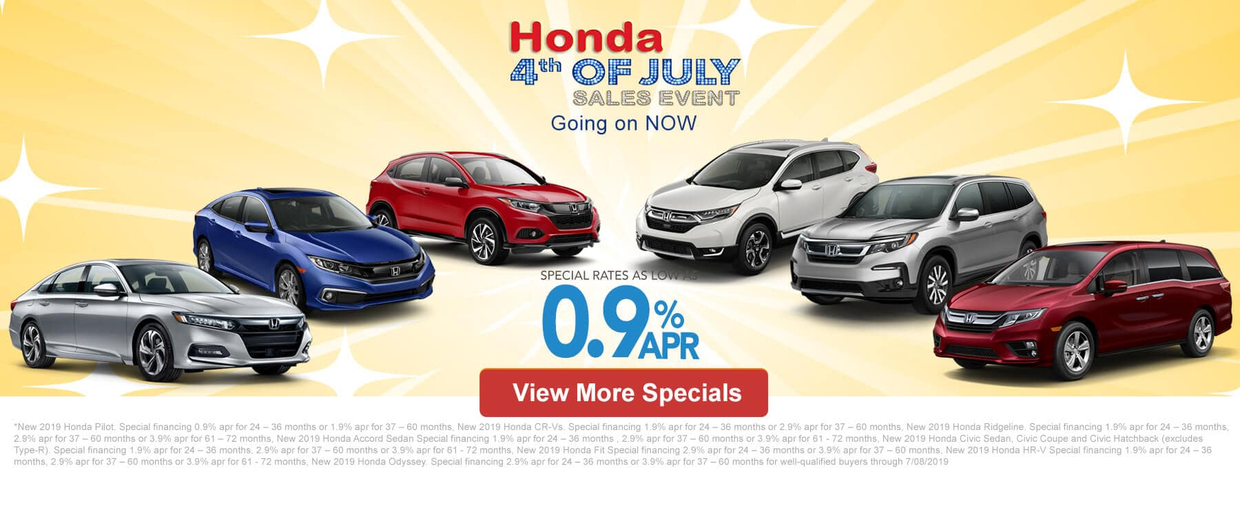99ae221ee693 Before you fire up the grill or settle down for the fireworks on the fourth,  visit Patty Peck Honda in Ridgeland, MS for our Honda 4th of July Sales  Event ...