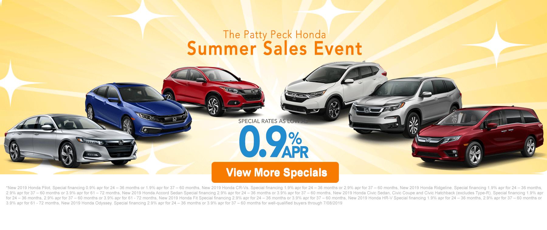 Honda Summer Sale DI Banner