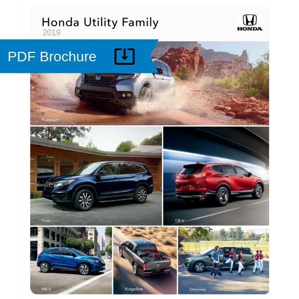 2019 Honda Passport Brochure