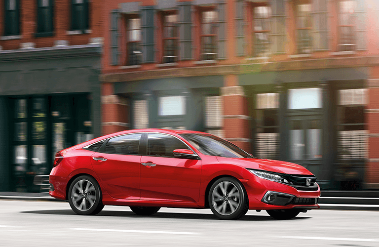 2019 Honda Civic Sedan trim comparison