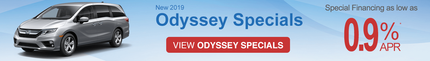 Honda Odyssey specials vrp banner