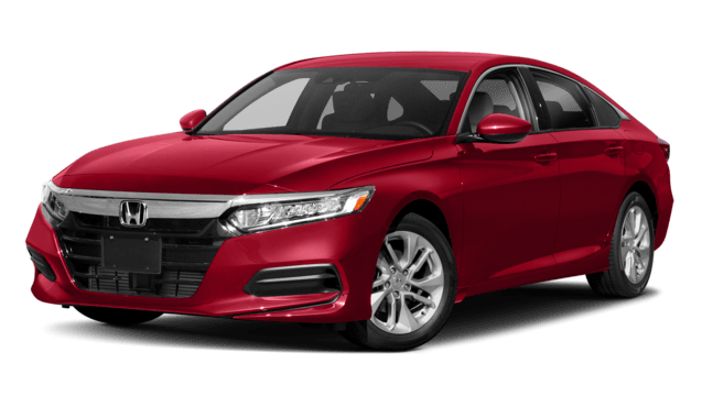 2019 Honda Accord LX in Red