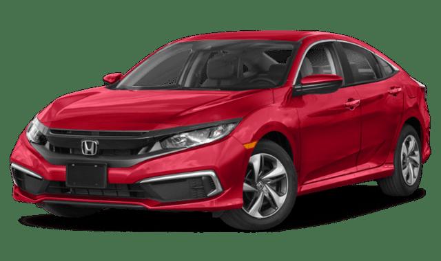 2019 Honda Civic in Red
