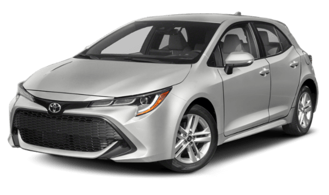 2019 Toyota Corolla with a White Exterior