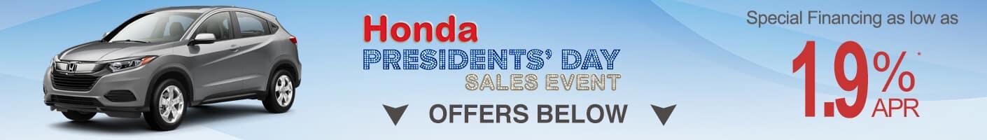 Honda HR-V Specials