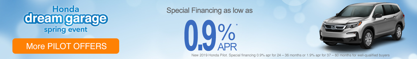 Honda Pilot special vrp banner