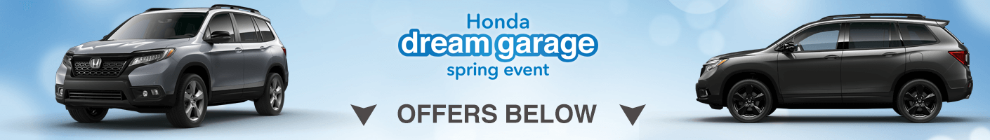 Honda Passport dream garage spring event