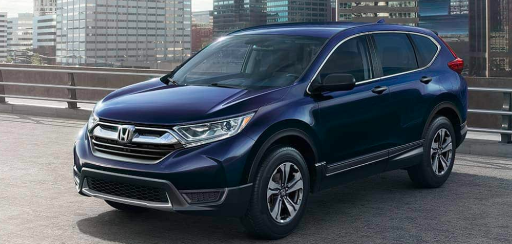 2019 Honda CR-V in Parking Lot