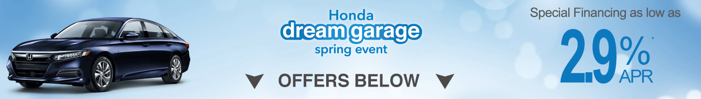 April Accord specials banner